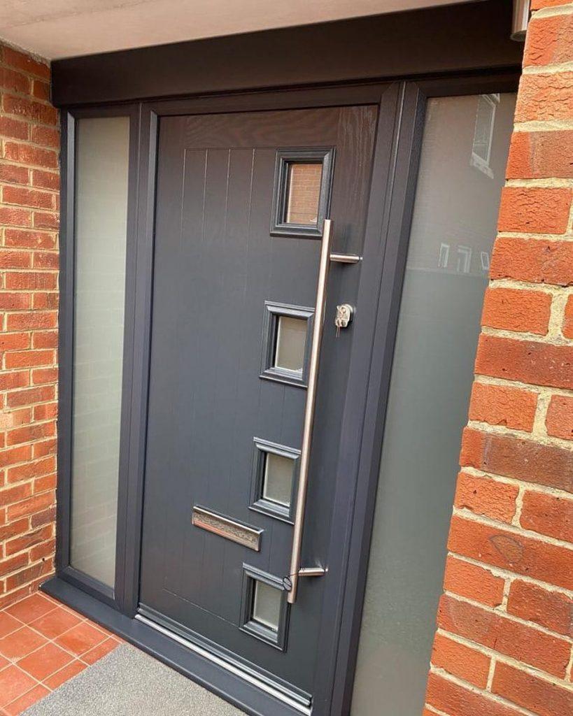 Composite-Door-With-Bar-Handle