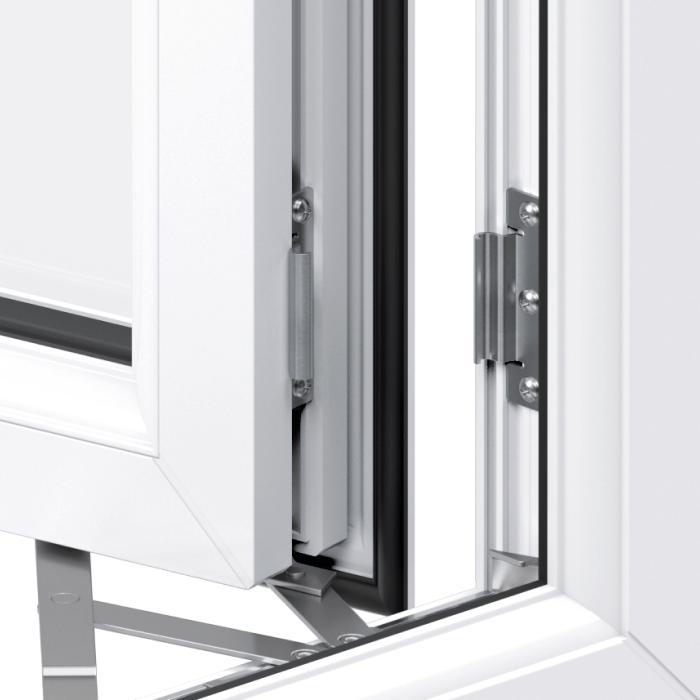 Trade uPVC Casement Windows - Stay guard