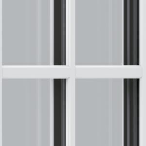 Trade uPVC Flush Sash Windows - astragal
