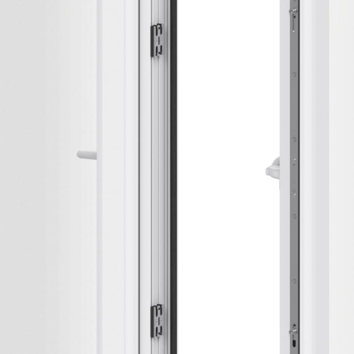 Trade uPVC French Casement Windows - Lock