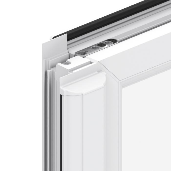 Trade uPVC French Casement Windows - Mullion