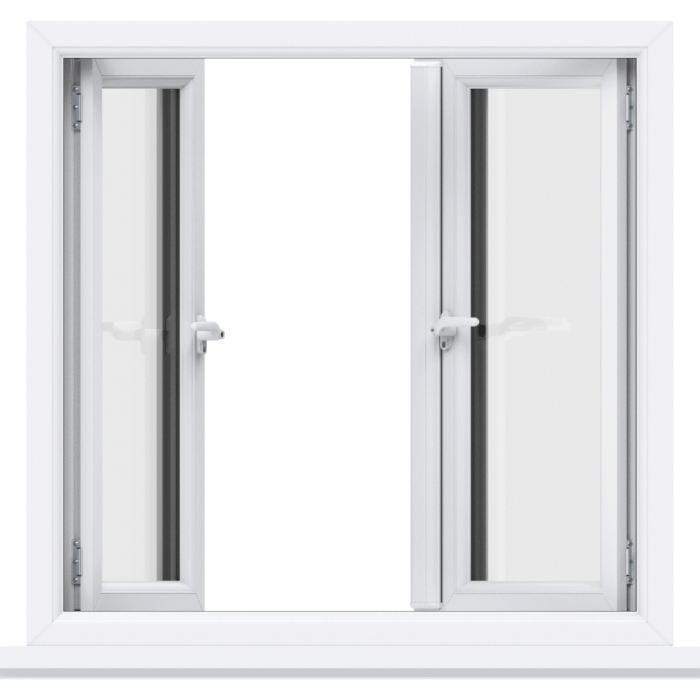 Trade uPVC French Casement Windows - Opening