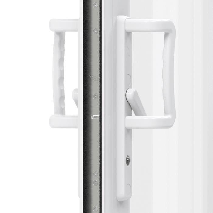 Trade uPVC Patio Doors - lock and handle