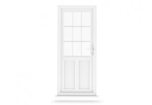 Trade uPVC Residental Door - Back Main