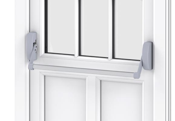 Trade uPVC Residential Doors - panic bar