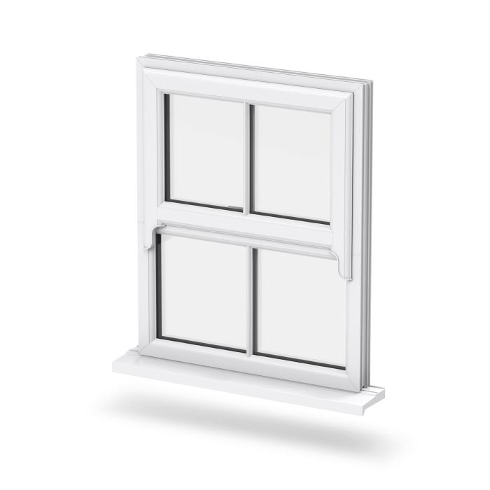 Trade uPVC Sash Horn Windows - Main