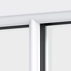 Trade uPVC Sash Horn Windows - astragal