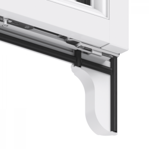 Trade uPVC Sash Horn Windows - horn reverse (sac)