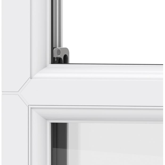 Trade uPVC Sash Horn Windows - sightlines