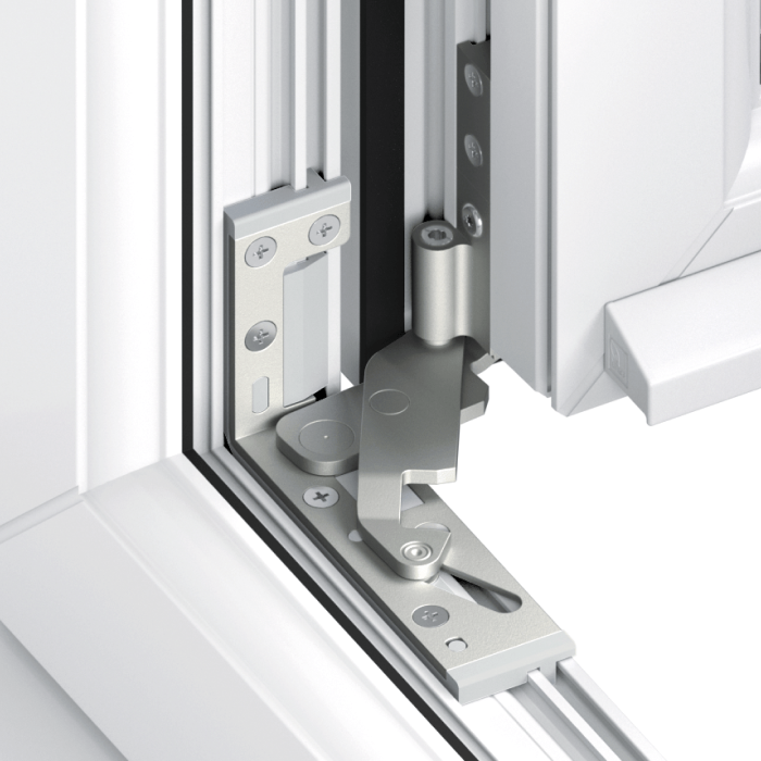 Trade uPVC Tilt and Turn Windows - concealed